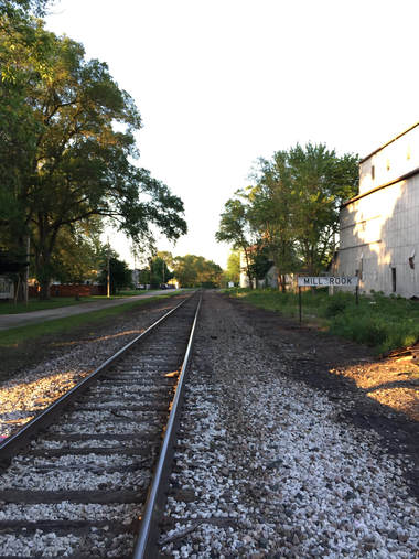 Railroad Tracks Through Millbrook